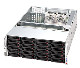 【4K環境向けストレージ】 StorageServer 3018P6U4-S424WRB-X2SR
