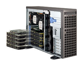 【GTX 1080 Ti 4基搭載モデル】 SolutionServer HPC-30222P64-A98WTARB-1080TI