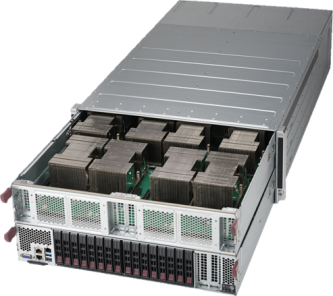 【4U / Tesla NVLink対応P100 GPU (Pascal) 8基搭載】SolutionHPC 30222P64-SD416WTA8RB