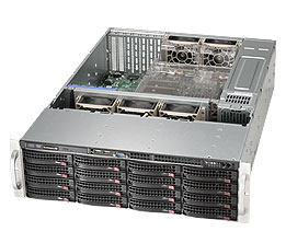 【3U中規模向けストレージ】StorageServer 3018P6U4-S316WRB
