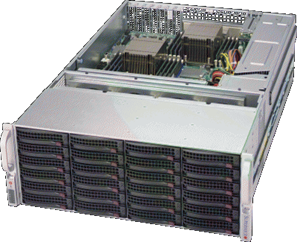 【4U36ベイ大容量ストレージ】StorageServer 3018P64-A436WRB