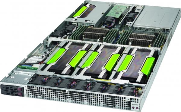 【1U / GPU 4基搭載モデル】SolutionServer HPC-30222P64-A12WTARB-P100