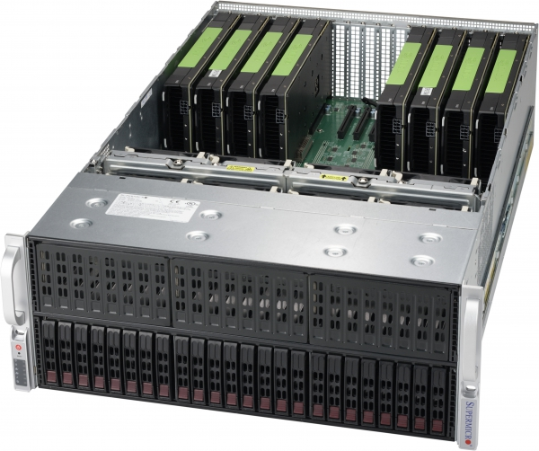 【4U / Tesla P100 GPU (Pascal) 10基搭載】SolutionHPC 30222P64-SD424WTA4RB