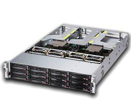 【AMD EPYC™ 7000シリーズ搭載 2Uスタンダードサーバ】