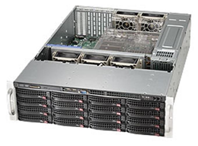 【3U中規模向けストレージ】StorageServer 3018P6USL-S316WR