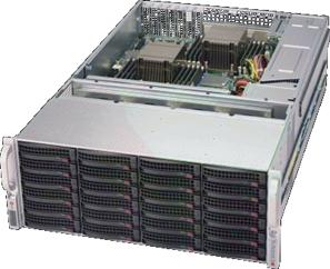 【4U36ベイ大容量ストレージ】StorageServer 3016P6USL-A436WR