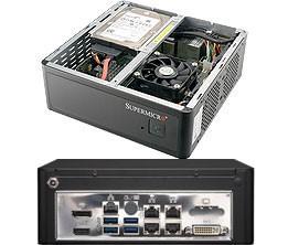 【ビデオコーデック向け小型ボックスPC】Solution Server 3014E355-AD1OB-LN4