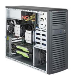 WST7200【Intel Xeon CPU 2基搭載ミドルタワーサーバー・ワークステーション】