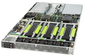 GST1200-4【1U / GPU 4基搭載モデル】