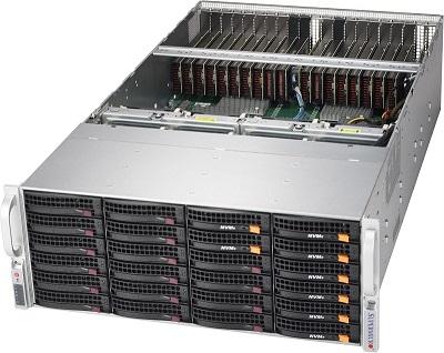 GST4200-20【4U NVIDIA T4 20基搭載・AI推論向け】