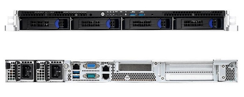 RT1100-NT1【RTX 2080Ti 1基対応 高性能1UラックPC・WS】