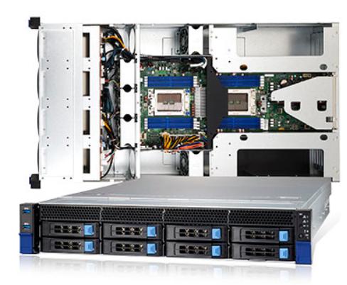 RD2200-4【NVIDIA Ampere GPUアーキテクチャ(A100, RTX 3090)対応2U4GPUモデル】