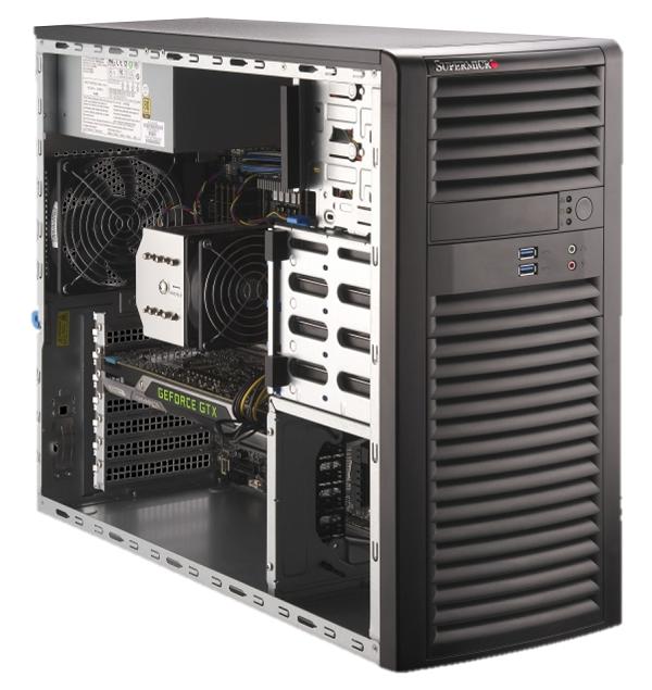 WST7100-STD【Intel Xeon W-2200シリーズ搭載ワークステーション】