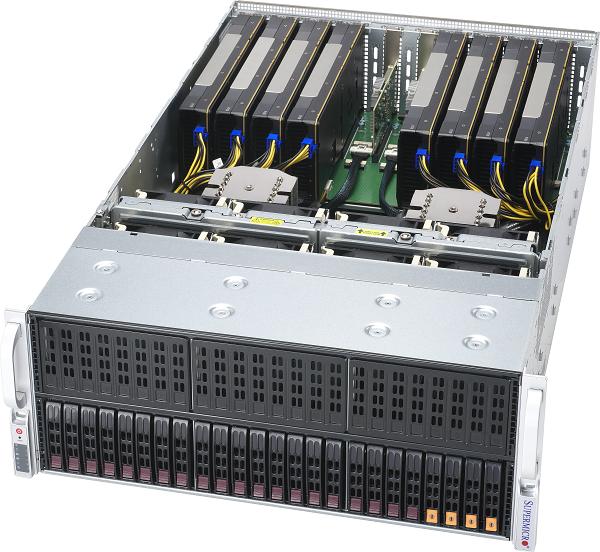 GSD4200-E2A8 【4U / NVIDIA A100 PCI-E GPU 8基搭載モデル】