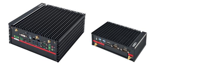 Core i7搭載ファンレス小型ボックスPC/Pentium N4200(Apollo lake)搭載PoE対応小型ファンレスモデル