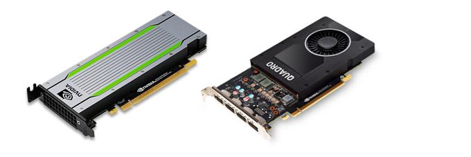 NVIDIA T4/Quadro P2200などのGPUカード搭載可能