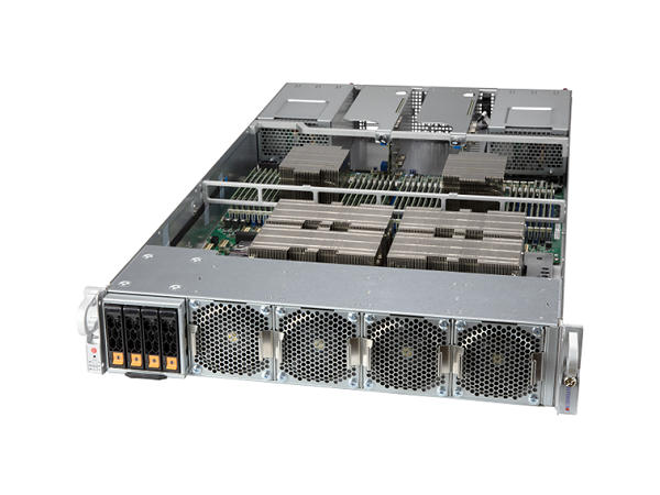 2U NVIDIA A100 40GB/80GB搭載 NVLink GPUサーバー