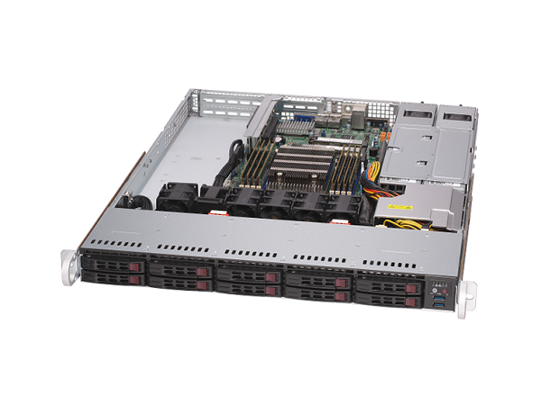 AMD EPYC 7003シリーズ搭載 1U1CPU(Zen2コア)サーバー