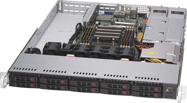 RSD1100-E2 【AMD EPYC 7003シリーズ搭載 1U1CPU(Zen3コア)サーバー】