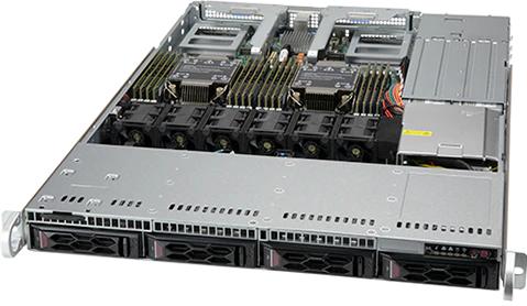 RST1200-ST【第3世代Intel Xeonスケーラブル・プロセッサー2基搭載 1Uスタンダードサーバー】